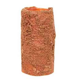 Orange Battery Pillar Candle - 4 x 2 inches