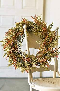 Shade Smilex 20 inch Wreath