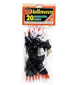 Orange String Lights - 20 count