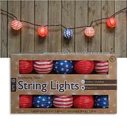 Patriotic Lantern Lights