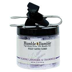 Lavender & Chamomile Fizzy Bath Cubes
