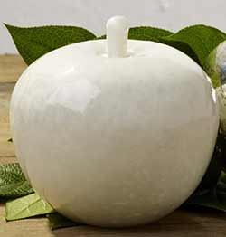 White Glass Apple