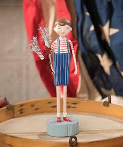 Firecracker Boy Figurine