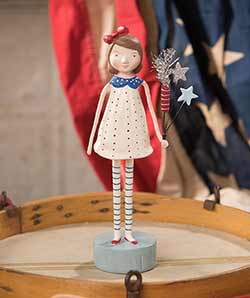 Firecracker Girl Figurine