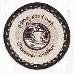 MSPR-133 One Good Cup 10 inch Tablemat