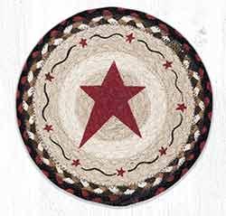 MSPR-19 Primitive Star Burgundy 10 inch Tablemat