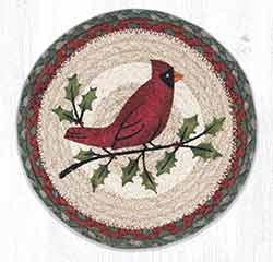 MSPR-25 Holly Cardinal 10 inch Tablemat