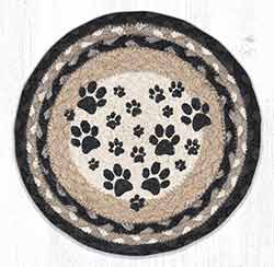 Heart Paw 10 inch Tablemat