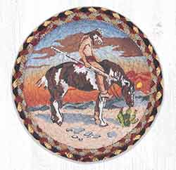 End of Trail 10 inch Tablemat