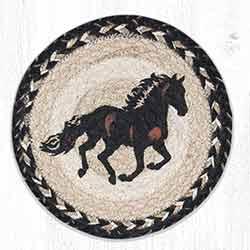 MSPR-9-93 Stallion 10 inch Tablemat