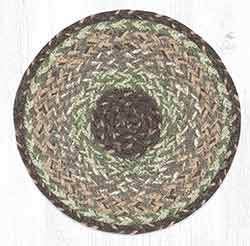Moss Bark 10 inch Trivet