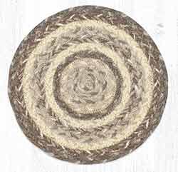 Khaki 10 inch Trivet