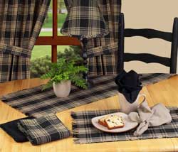 Millbrook Black 54 inch Table Runner