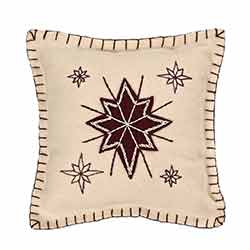North Star Pillow (10x10)