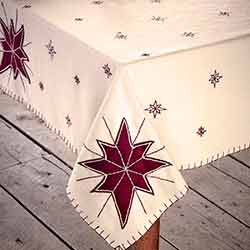 North Star Square Table Topper
