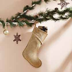 Nowell Natural 15 inch Stocking