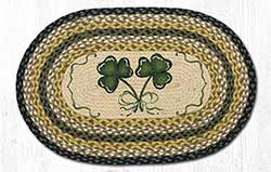 Shamrock Braided Jute Rug