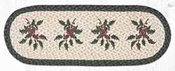 OP-508 Holly 36 inch Braided Table Runner