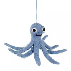 Ollie the Octopus Ornament