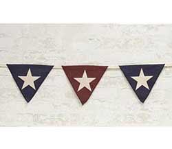 Americana Flag Pennant Garland
