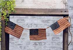 Primitive Americana Flag Banner