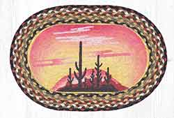 Desert Sunset Braided Placemat