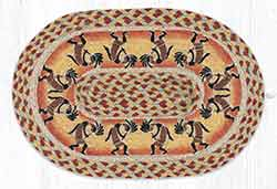 Kokopelli Braided Placemat