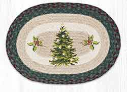 Christmas Joy Tree Braided Placemat
