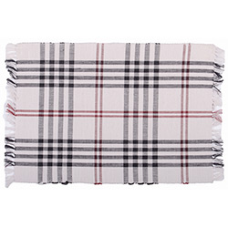 Chesterfield Check Cream Placemat