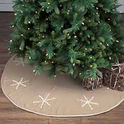 Pearlescent 55 inch Tree Skirt