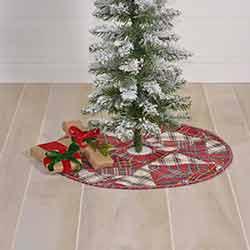 Peyton Mini 21 inch Tree Skirt