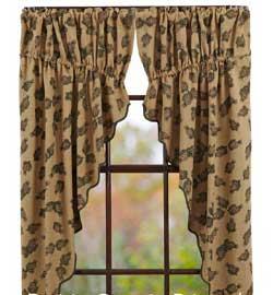 Pine Cone Prairie Curtain (63 inch)