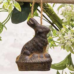 Beeswax Bunny Ornament