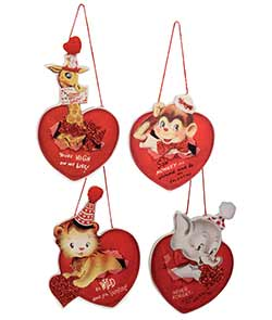 Wild About You Ornaments (Set of 4)