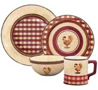 Rise N Shine Dinnerware - Soup/Cereal Bowl