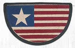 SCP-1032 Original Flag Braided Slice Rug