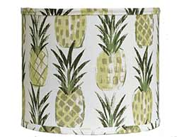Pineapples Custom Lamp Shade (Choose Size)