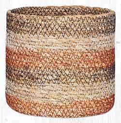 SGB-02 Honeycomb Sedge Grass 5.5 inch Basket