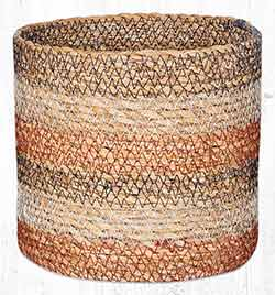 SGB-02 Honeycomb Sedge Grass 6 inch Basket