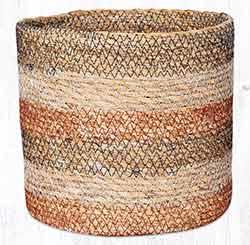 SGB-02 Honeycomb Sedge Grass 7 inch Basket