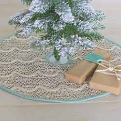 Sanbourne Mini 21 inch Tree Skirt