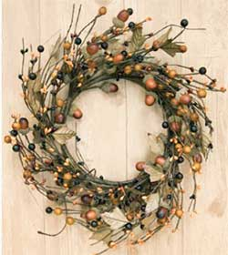 Fall Acorn 12 inch Wreath