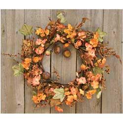 Harvest Garden Twig 14 inch Wreath