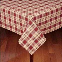 Rich Hill Plaid Tablecloth - 60 x 90 inch