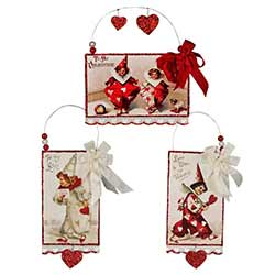 Valentine Postcard Ornament