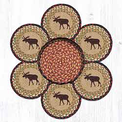 TNB-19 Moose Trivet Set