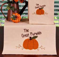 The Great Pumpkin Table Runner