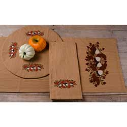 Acorns and Berries Table Runner