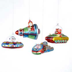 Spaceship Ornament
