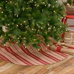Vintage Stripe 48 inch Tree Skirt